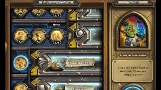 [Hearthstone] The Boomsday Solo Adventure. Board Clear; Dexter The Dentrologist