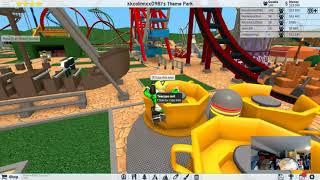 La dernière création de Colin dans Roblox Theme Park Tycoon 2