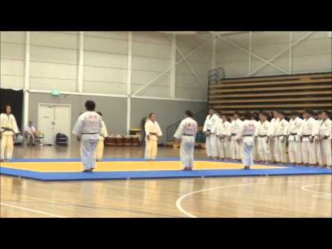 Nippon Sport Science University demonstration in Melbourne- Judo