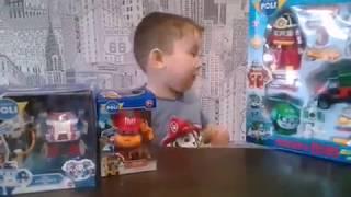 Обзор игрушки Робокар Поли и его друзья, Робокар Поли космонавт и Робокар Марк