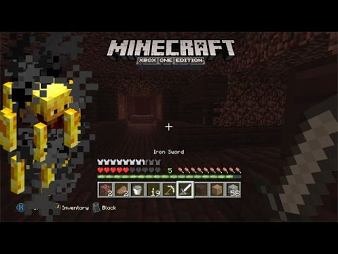 Minecraft - Nether Gameplay - YouTube