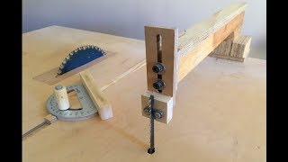 4 in 1 Workshop Accessories (blade guide, miter gauge, crosscut sled) - 4 in 1 ç.i. Aparatları