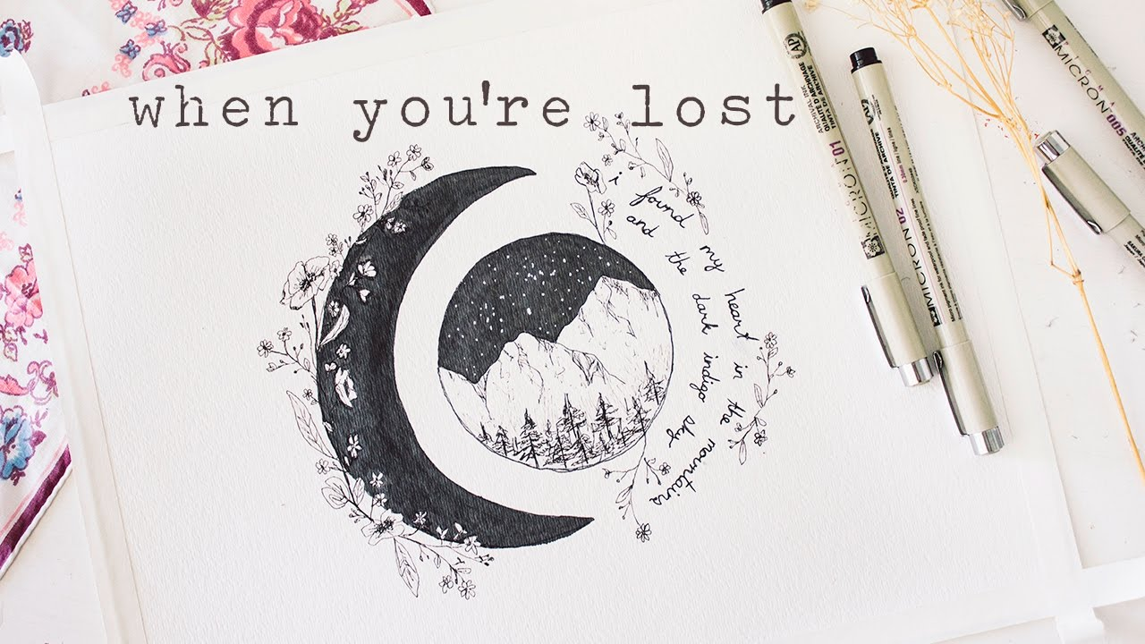When you're lost