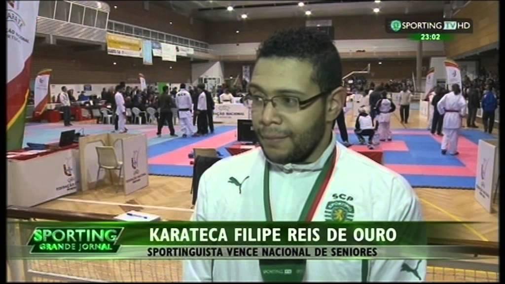 Karaté :: Filipe Reis Campeão Nacional 21/02/2015