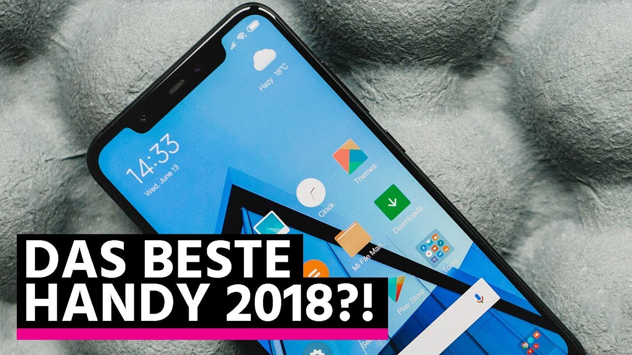 das beste smartphone 2018 xiaomi mi 8 im test youtube. Black Bedroom Furniture Sets. Home Design Ideas