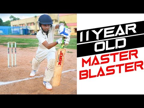 11 Year Old Master Blaster | Big Hitting youngster | Nothing But Cricket from YouTube · Duration:  4 minutes 13 seconds