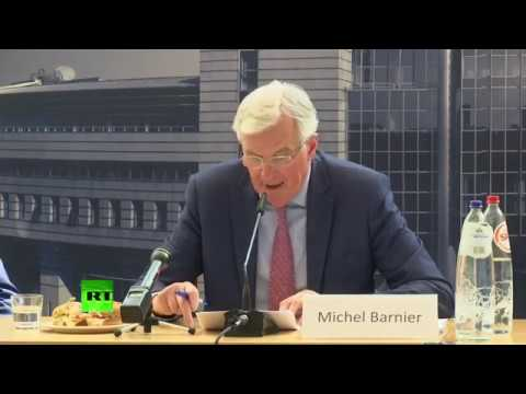 LIVE: Barnier gives speech at  'Is Brexit a threat to the future of EU's environment?'