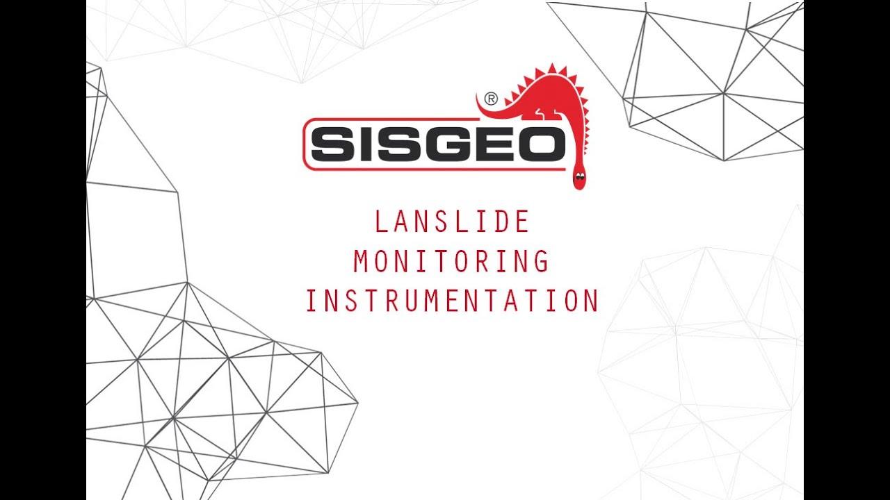 Landslide Monitoring Instrumentation Sisgeo Video Presentation Inclinometer Wiring Diagram