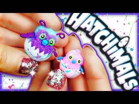 Como Hacer HATCHIMALS en Miniatura para Muñecas - Tutorial Juguetes en Español Fácil ♥