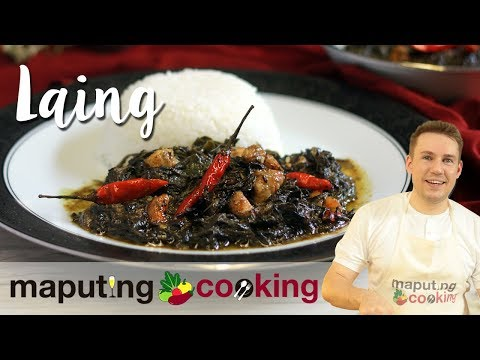 Spicy Bicol Laing Recipe | Chris Urbano