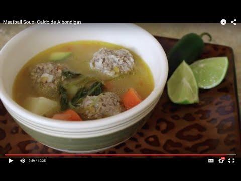 Meatball Soup- Caldo de Albondigas