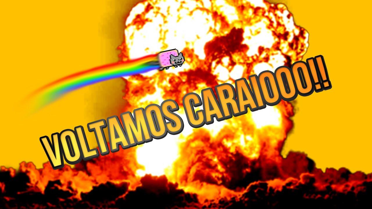 ESTAMOS DE VOLTA CARAAI!!!
