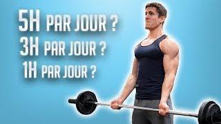 COMBIEN D'HEURES par Jour pour Être Musclé ?