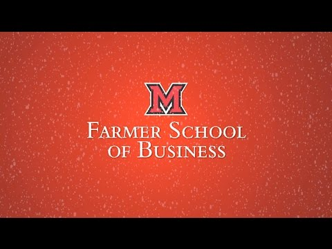 Farmer School of Business Holiday 2016