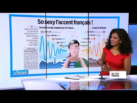A lingual turn-on: French accent voted sexiest of all