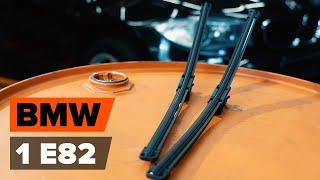 Como substituir Escovas de para brisa BMW 1 Coupe (E82) - vídeo guia