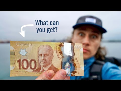 What can YOU get with $100 in Canada?!