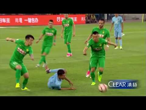 HIGHLIGHTS Beijing Guoan vs Jiangsu Suning 北京中赫国安vs江苏苏宁易购 | CSL 2017 Round 14