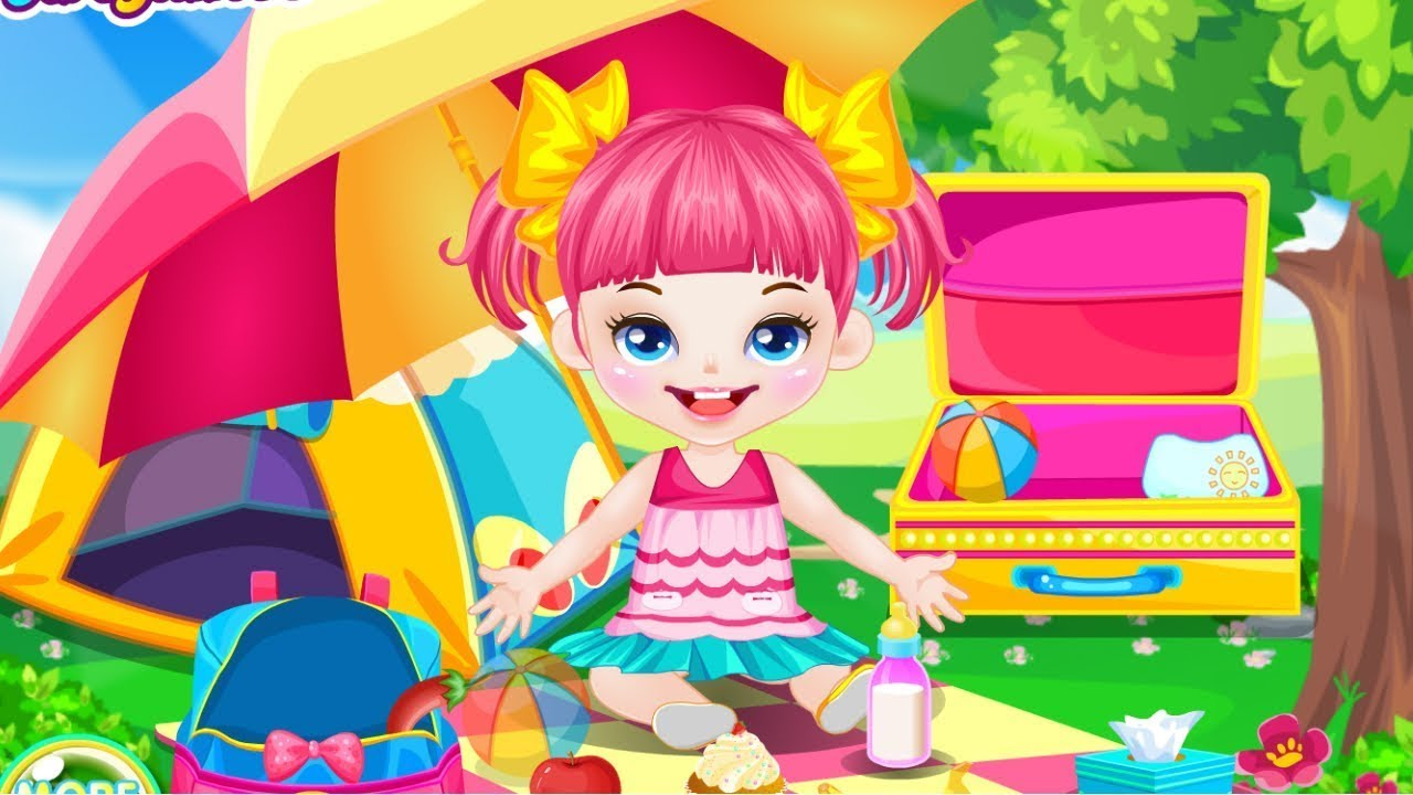 Cute Baby Picnic Online Free Flash Game Videos GAMEPLAY ...