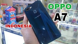 UNBOXING OPPO A7 INDONESIA 2018
