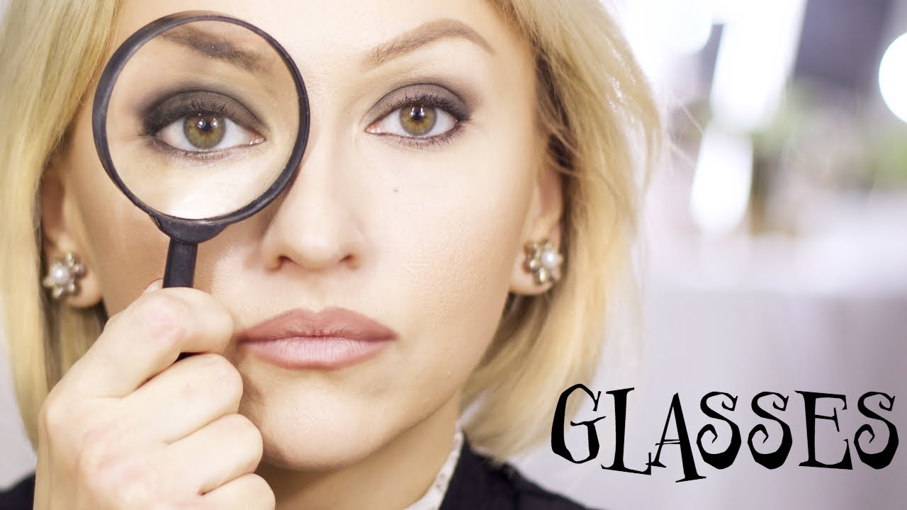 Makeup For Glasses Far Sighted Bigsmall Eyes Tips And Tricks