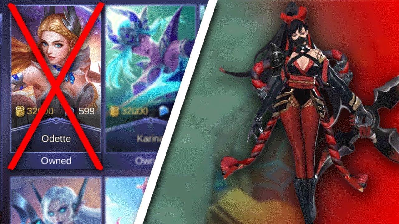 NEW Ninja Hero & NEW Legendary Skin Odette Removed from Shop Mobile Legends