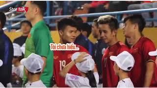 Phản ứng của Quang Hải khi bị Fan Nhí Troll về chiều cao