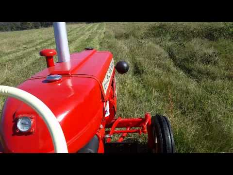 Allis Chalmers D12 Bush Hogging