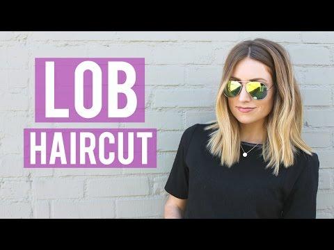 New Lob Haircut Tutorial