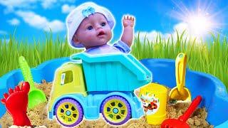 Кукла БЕБИ БОН катается на Грузовике! – Детские видео игры с машинками. Мультик для малышей.