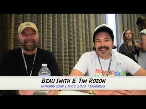 WYNONNA EARP SDCC 2016 Interview: Beau Smith & Tim Rozon