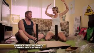 Things never said by couples assembling ikea items