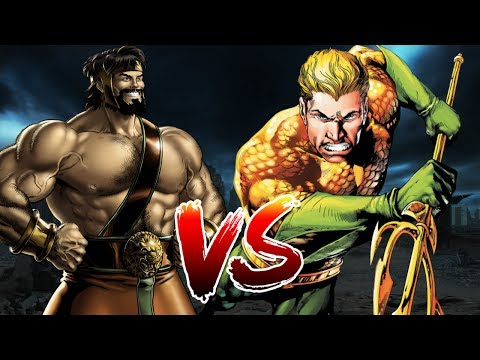 Aquaman VS Hercules | Who Wins?