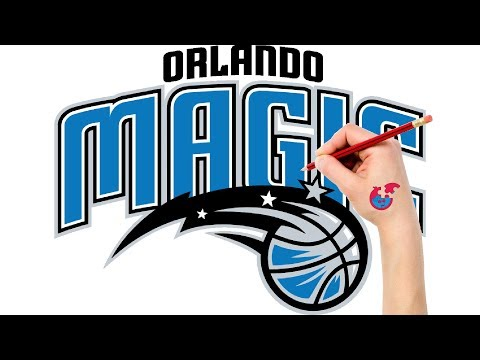 Fast Drawing And Coloring For Toddlers - NBA Orlando Magic - Puzzle Kid