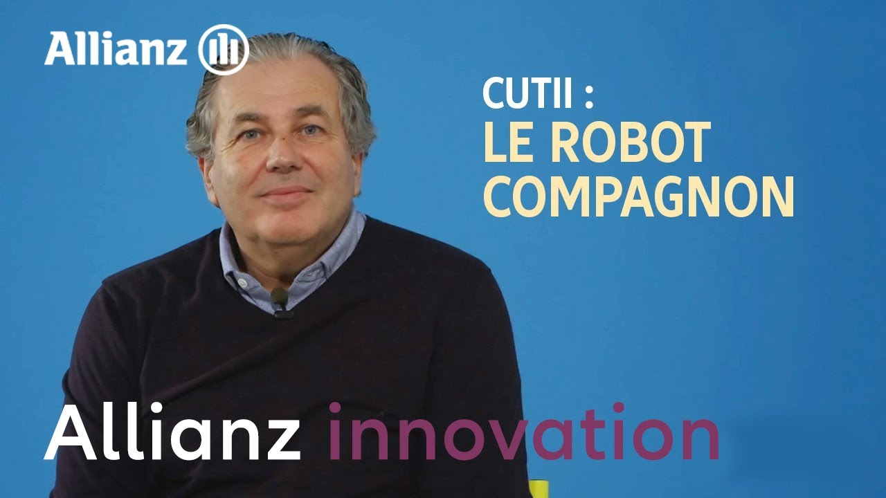 Cutii : le robot compagnon des séniors | Allianz France