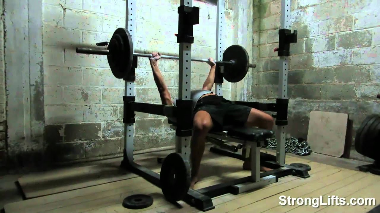 Bench Press Fail Or Why You Need A Power Rack