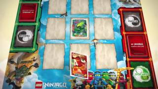 LEGO® NINJAGO Trading Card Game RULES - Tutorial 1 : Simple game