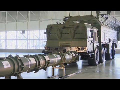يورو نيوز:روسيا تستعرض صاروخاً جديداً يؤجج أزمة المعاهدة النووية مع أمريكا…