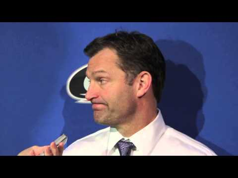Hurricanes coach Kirk Muller talks about his team's 6-3 win over Ottawa