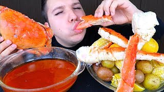 SEAFOOD BOIL WITH BLOVESLIFE SEAFOOD SAUCE (My First Time) • Mukbang & Recipe