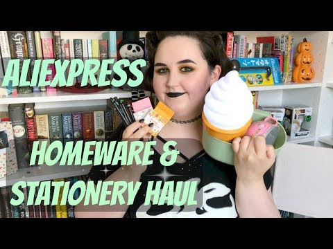 ALIEXPRESS HOMEWARE & STATIONERY HAUL