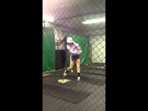 Macy K cage hitting