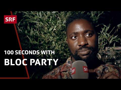 Bloc Party: 100 Seconds with Kele Okereke