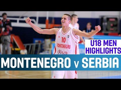 Montenegro v Serbia - Highlights – 1st Round -2014 U18 European Championship