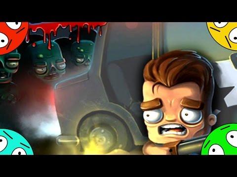 🐾 Гнев зомби.  Мультик ИГРА 1#! Полицейский отстреливается от зомбяков.