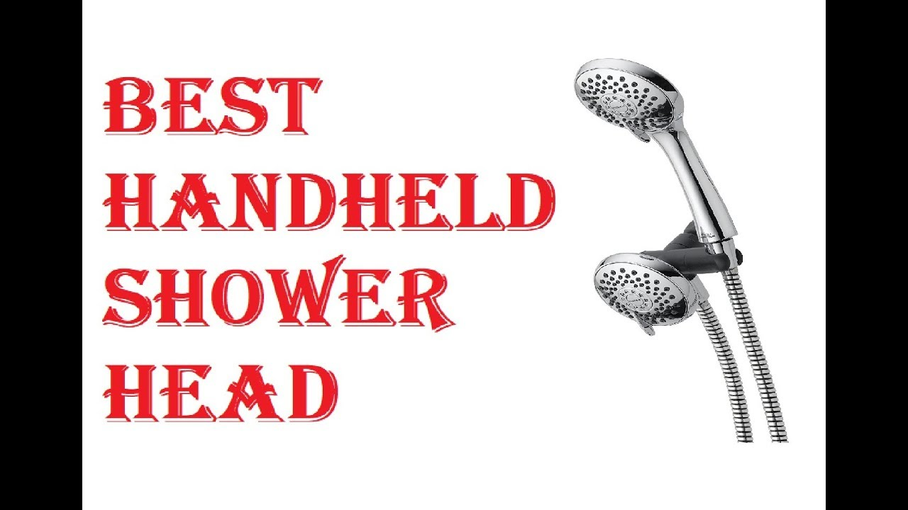 BEST HANDHELD SHOWER HEAD 2018 - YouTube