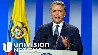 Presidente de Colombia reactiva órdenes de captura contra jefes del ELN tras atentado en Bogotá