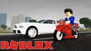 CAR VS MOTO NO ROBLOX! WHAT'S THE FASTEST?