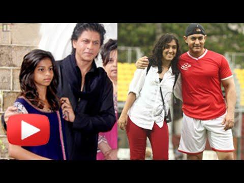 What Shahrukh Khan & Aamir Khan Teach Their Kids,Watch Now!!