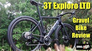"3T Exploro LTD Review - with SRAM Red AXS eTap - ""The World's Only Full-Aero Gravel Bike"""